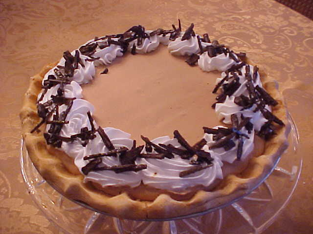 Chocolate Chiffon Pie