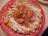 Apple Topped Funnel Cake