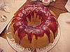 Rasberry Glazed Bundt Cake