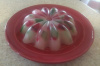 Jello Bundt with fruit Chunks