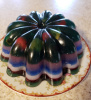 Rainbow Fruit Jello Mold Cakes (SEE OUR BUNDT PAGE FOR MORE)