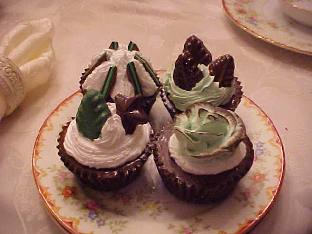 "Assorted ""Chocolate-Mint"" Cupcakes"