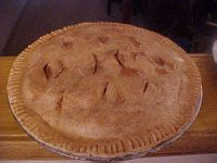 Old Time Apple Pie