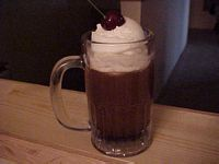 Malt Shop RootBeer Float