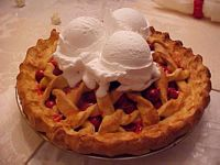 Cherry Pie Alamode