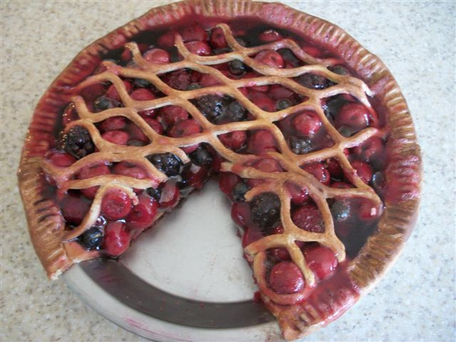 Assorted Berry Pie
