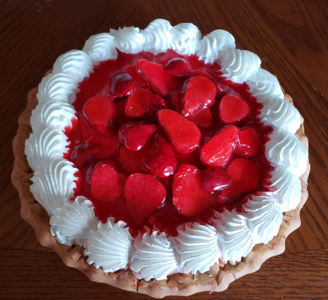 Strawberry Filled Pie