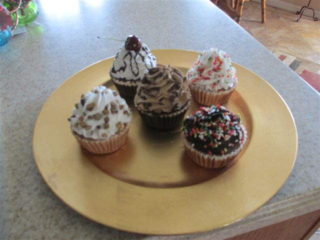 Assorted Bakery Cupcakes