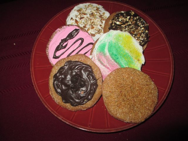Assorted Flavored Cookies (See all Our Cookies on the Cookies and Brownies  page)