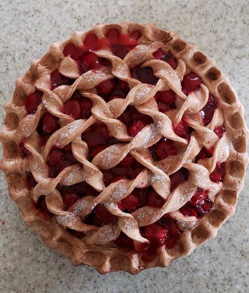 Cherry Pie w Sugar top