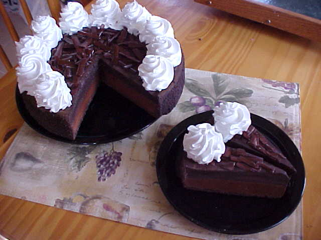 Double Chocolate Delight Cheesecake