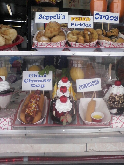 Our Desserts on Atlantic City's Boardwalk