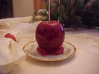Red Candied Apple