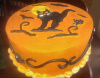 Spooky Halloween Cake (See our Holiday Cakes Page for More Items)
