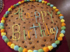 Colorful Round 16 inch Cookie Cake