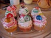 Christmas Candy Cupcakes