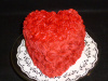 Happy Valentines Day or Love Cake